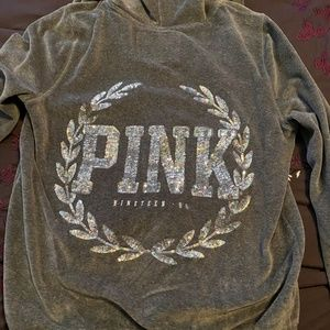 Pink (VS) jogging outfit